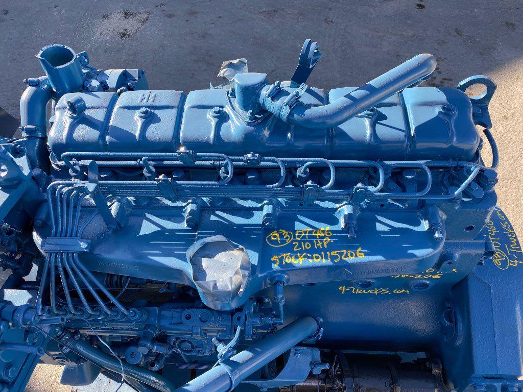 1993 INTERNATIONAL DT466 ENGINE 210 HP