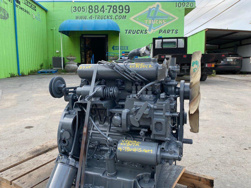 2015 KUBOTA V2203L ENGINE 57 HP
