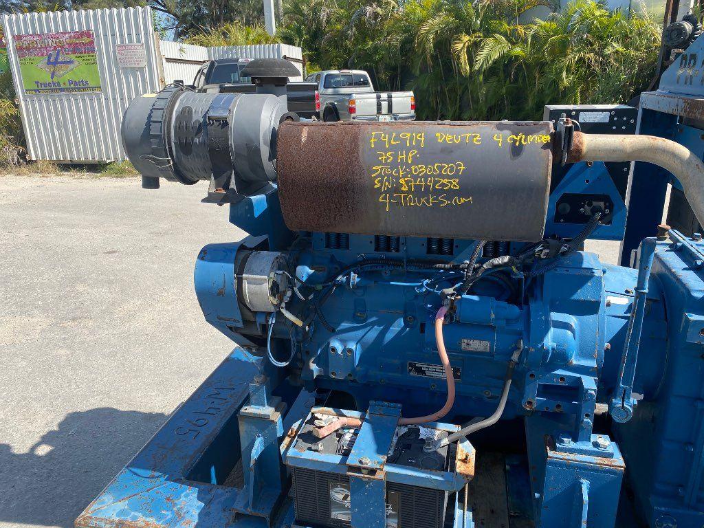 2005 DEUTZ F4L914 ENGINE 75HP