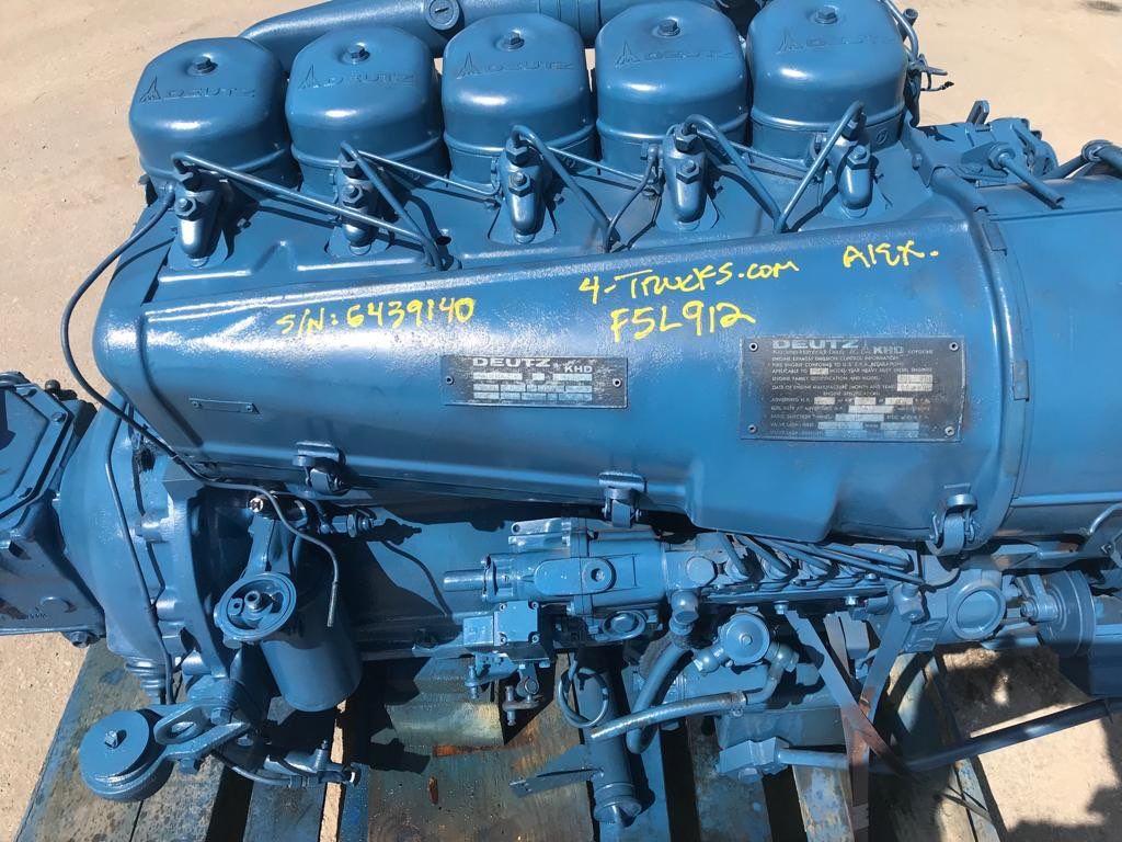 1986 DEUTZ F5L912 (5 CYLINDER) ENGINES 215 HP