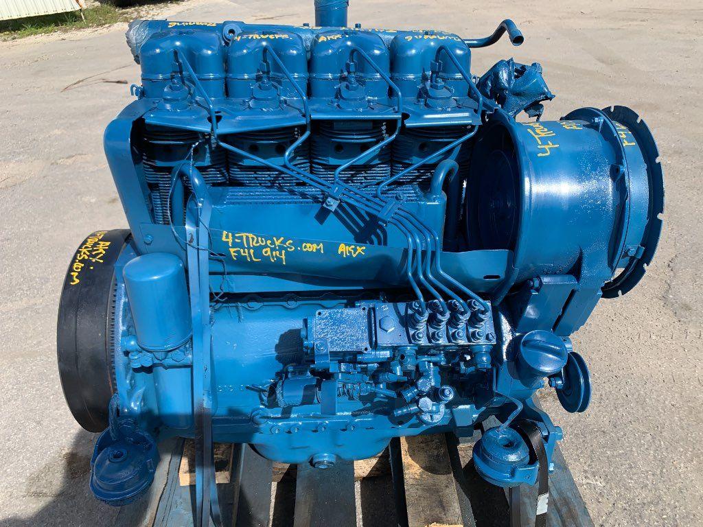 1986 DEUTZ F4L 914 ENGINES, 4 CYLINDER, 53 HP