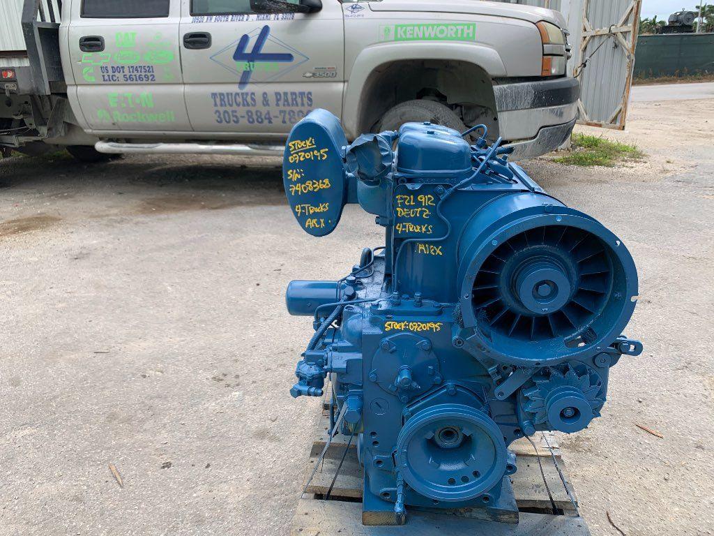 1984 DEUTZ ENGINE, F2L912, 29HP, 2 CYLINDER