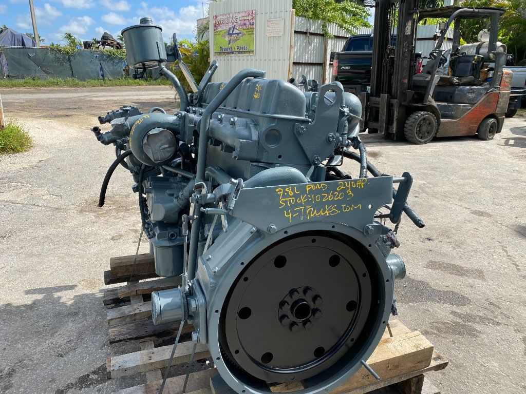 1996 FORD 7.8 ENGINE 240 HP