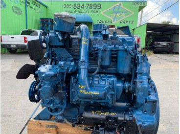 1986 DETROIT 453 TURBO ENGINE 230 HP