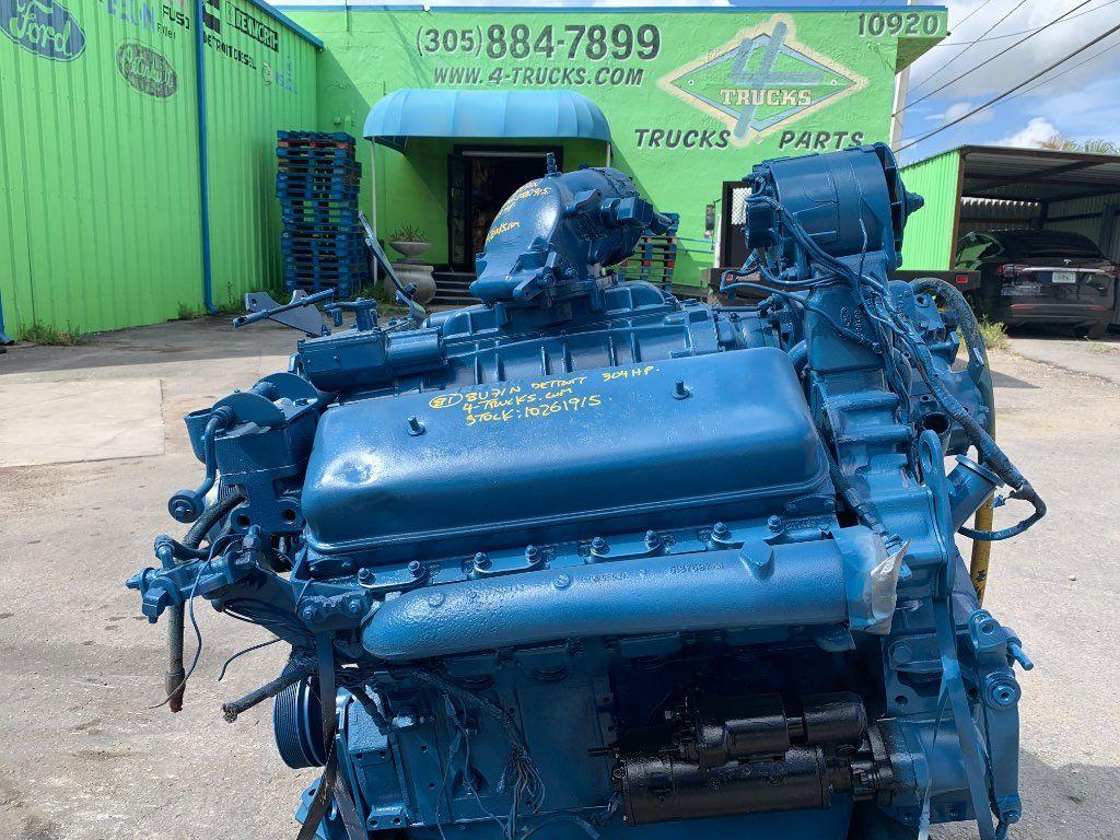 1981 DETROIT 8V71 ENGINE 304HP