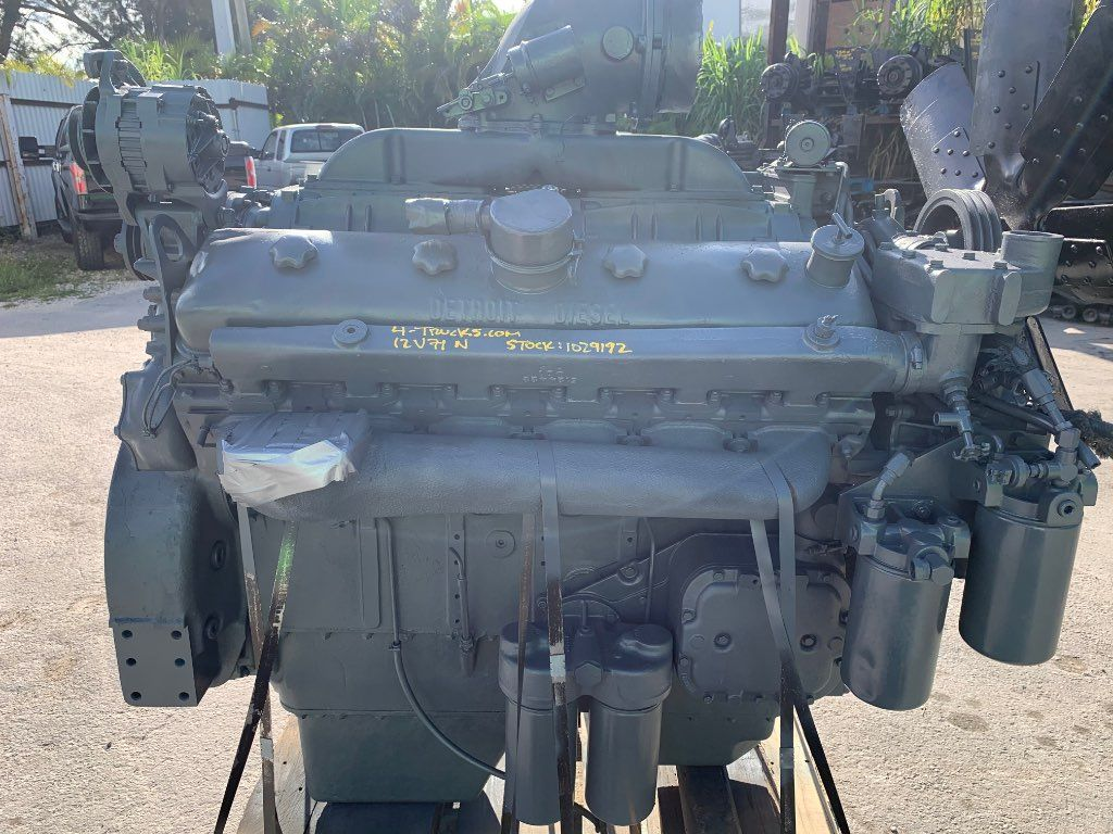1981 DETROIT 12V71 ENGINE 475HP
