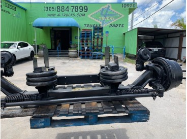 2009 HENDRICKSON STEERABLE HUP PILOT LIFT AXLES DROP AXLES